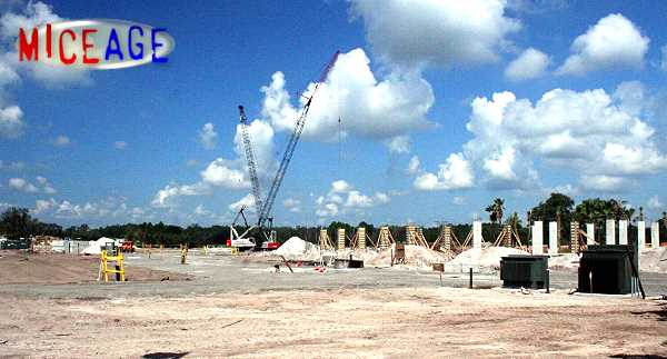 DAK Lodge DVC is under construction � this plot of land is BIG!