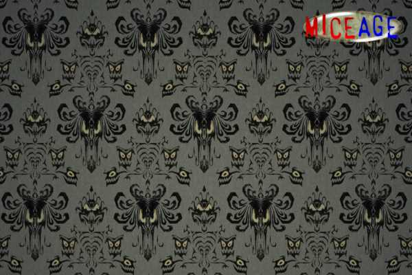You won't find this wallpaper pattern at Home Depot.