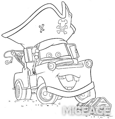 Mater Coloring Pages Coloring Pages