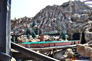 Log Ride Scenery