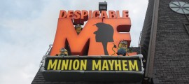 Despicable Me's marquee