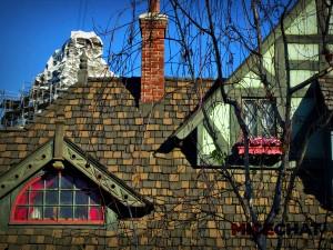 Fantasyland roof