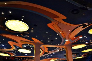Tomorrowland Terrace ceiling