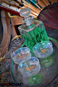 Absinthe display at Tower of Terror