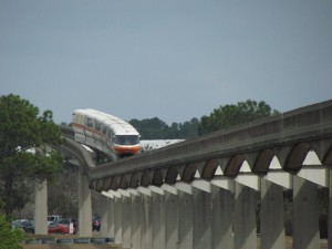 People associate monorail travel with a Walt Disney World vacation; they should use that!