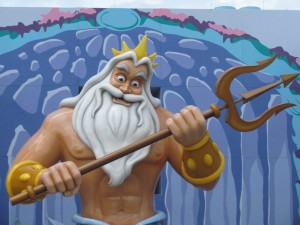 King Triton looks slightly deranged if you look closely enough at his eyes