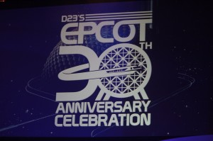 Logo for the D23 event.