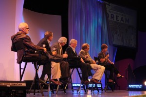 Ron Logan leads a panel of entertainment luminaries
