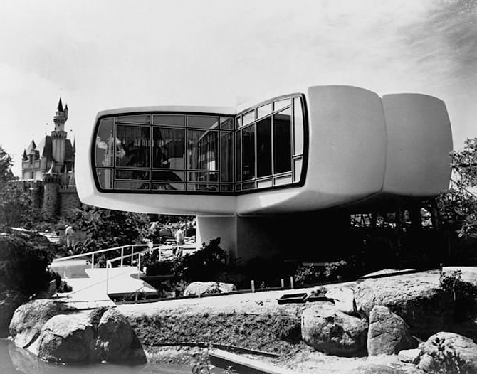 Remembering The Disneyland House Of The Future
