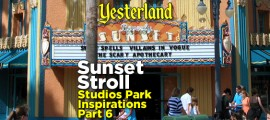 Sunset Stroll: Studios Park Inspirations, Part 6