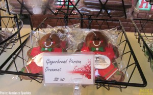 Gingerbread Person Ornament – $8.50
