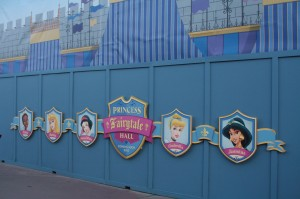 Princess Fairytale Hall has new signage