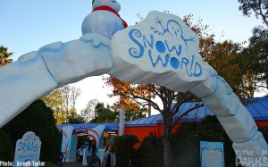 Last year, SeaWorld debuted Snow World…