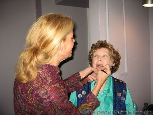 Margaret and Makeup Artist