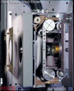 IWERKS 870 large format projector with linear loop technology, awarded an Academy Award in 1999.