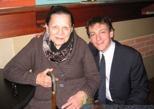Alice Davis (Disney Legend) and Fabrizio Mancinelli (Composer)