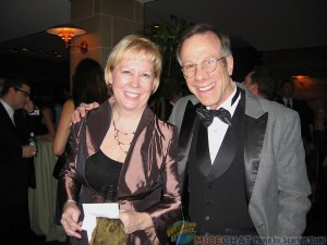 Mindy Johnson and Frank Gladstone (President of ASIFA-Hollywood)