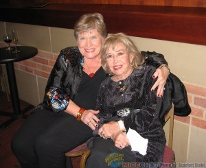 Alice Maltin (Mrs Leonard Maltin) and June Foray