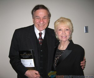 Richard Sherman (Disney Legend songwriter and Academy Award winner) with his wife, Elizabeth
