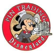 PinPics#726 Disneyland Pin Trading Press Pin 1999