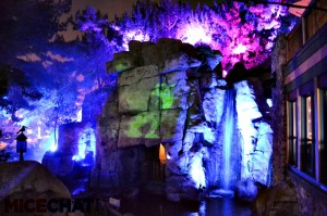 Waterfall Lighting And Ghost Projections