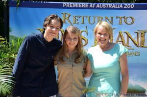 Return To Nim's Island stars Toby Wallace & Bindi Irwin, with Nim At Sea author Wendy