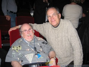 Eric Goldberg (animator, director and recipient of the Annies Winsor McKay Award) with Ted Thomas