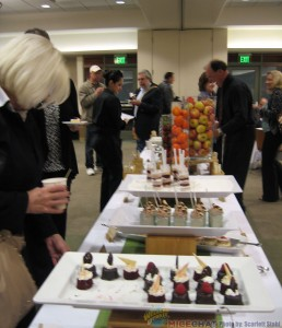 Dessert Buffet in the Commissary