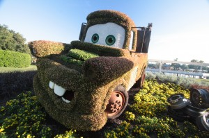 Do Mater's plants look rusty?