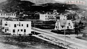 The corner of Hollywood and Highland, 1907