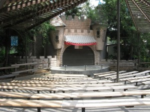 The Puppet Theater just before its renovation.