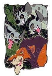 PinPics#28624 Featured Artist Jim Tronoski (Scar & Hyenas) 2004