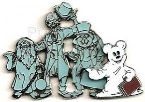 PinPics#57520 Ghost Mickey & The Hitchhiking Ghosts 2007