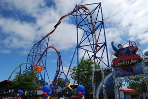 SUPERMAN Ultimate Flight grand opening.