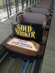 A great look at the new Gold Striker trains