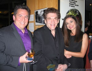 David Derks (board member of ASIFA-Hollywood and Digital Producer at Fox) Charles Fleischer (voice actor and the voice of Roger Rabbit ) with his friend Amy Russo