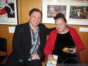 Andreas Deja (animator extrordinaire) and Alice Davis (Disney Legend)