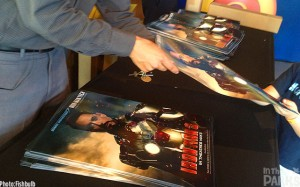 Coolness, they are giving out free Ironman 3 posters!