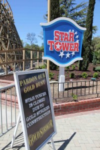 The new Star Tower sign has got to be one of my favorite additions to the park this year!