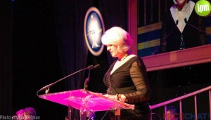 TEA 2013 President Christine Kerr opens the ceremony