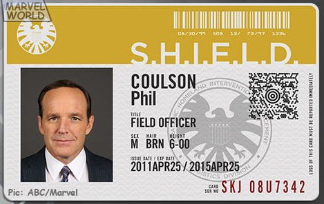Coulson SHIELD ID