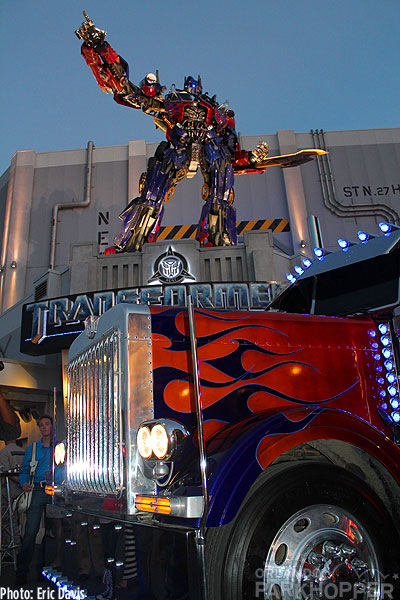 Transformers the Ride 3D gets ready to open at Universal Orlando