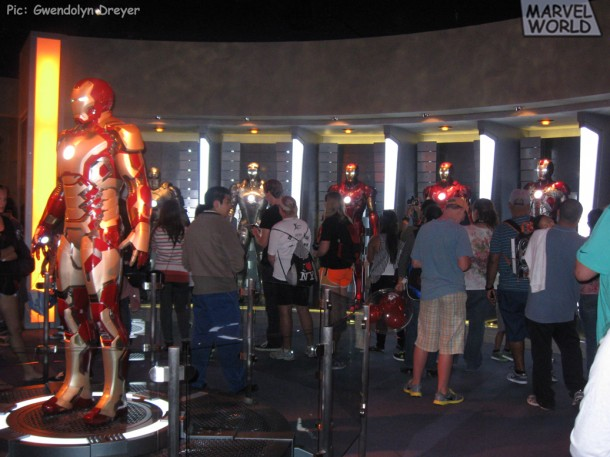 Iron Man Mark 42 and Armory-1