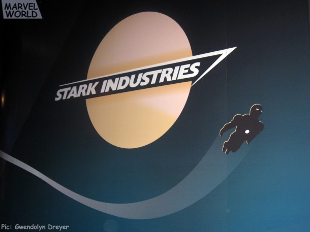 Iron Man Stark Industries Mural