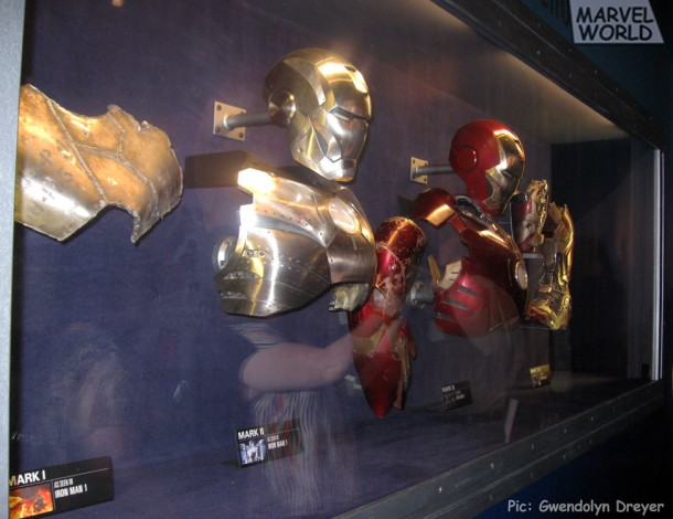 Iron Man Suit Parts