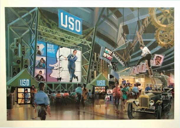 USO w- Bob Hope