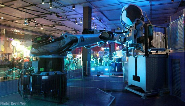 KUKA arm technology used at The Sum of all Thriils in EPCOT