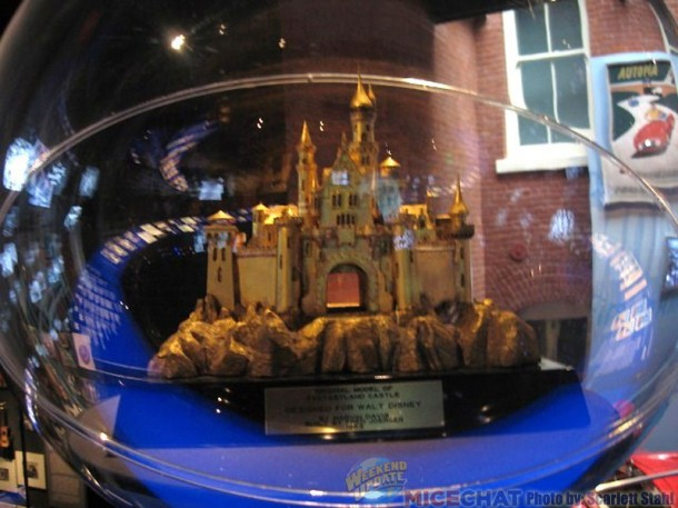 Part of the Walt Disney story in the Main Museum
