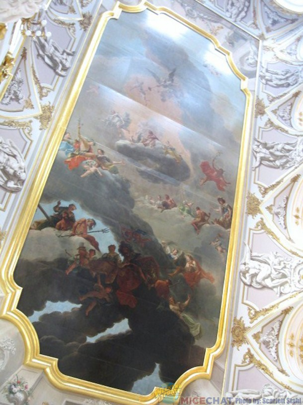 Ceiling in Winter Palace entry