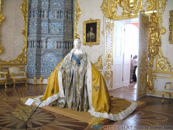 Empress Elizabeth gown
